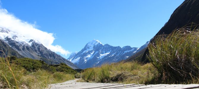 Turen til Mount Cook, med ophold i Tekapo