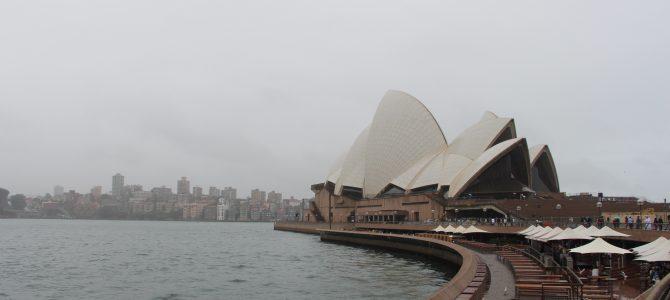 Så er vi landet i Sydney